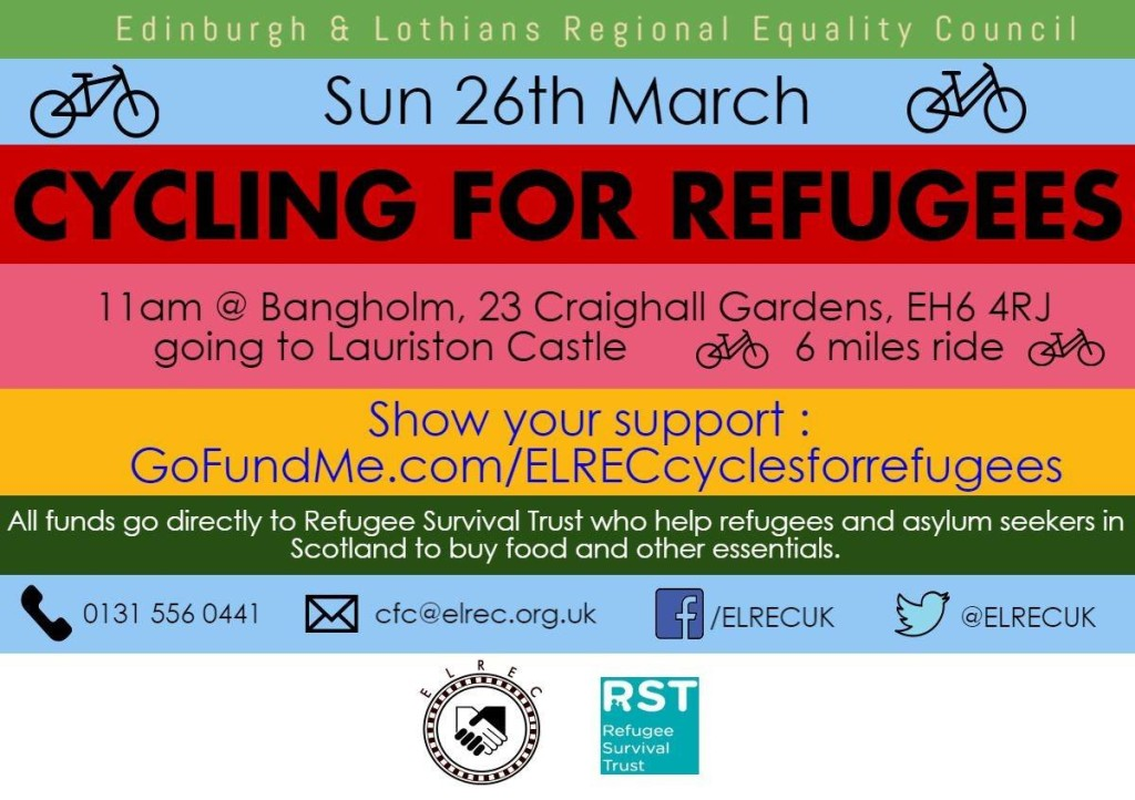 ELREC Cycles for Refugee Survival Trust
