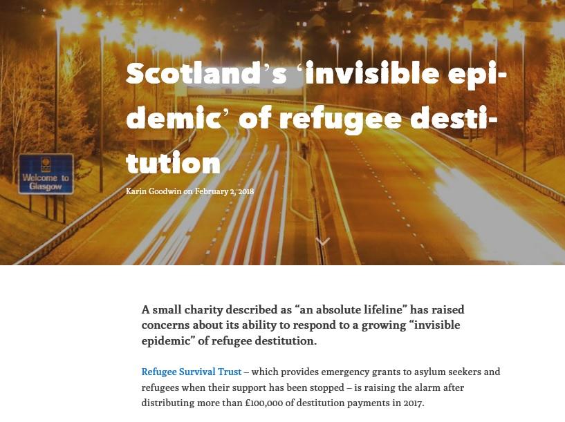 ferret article Scotland invisible epidemic refugee destitution