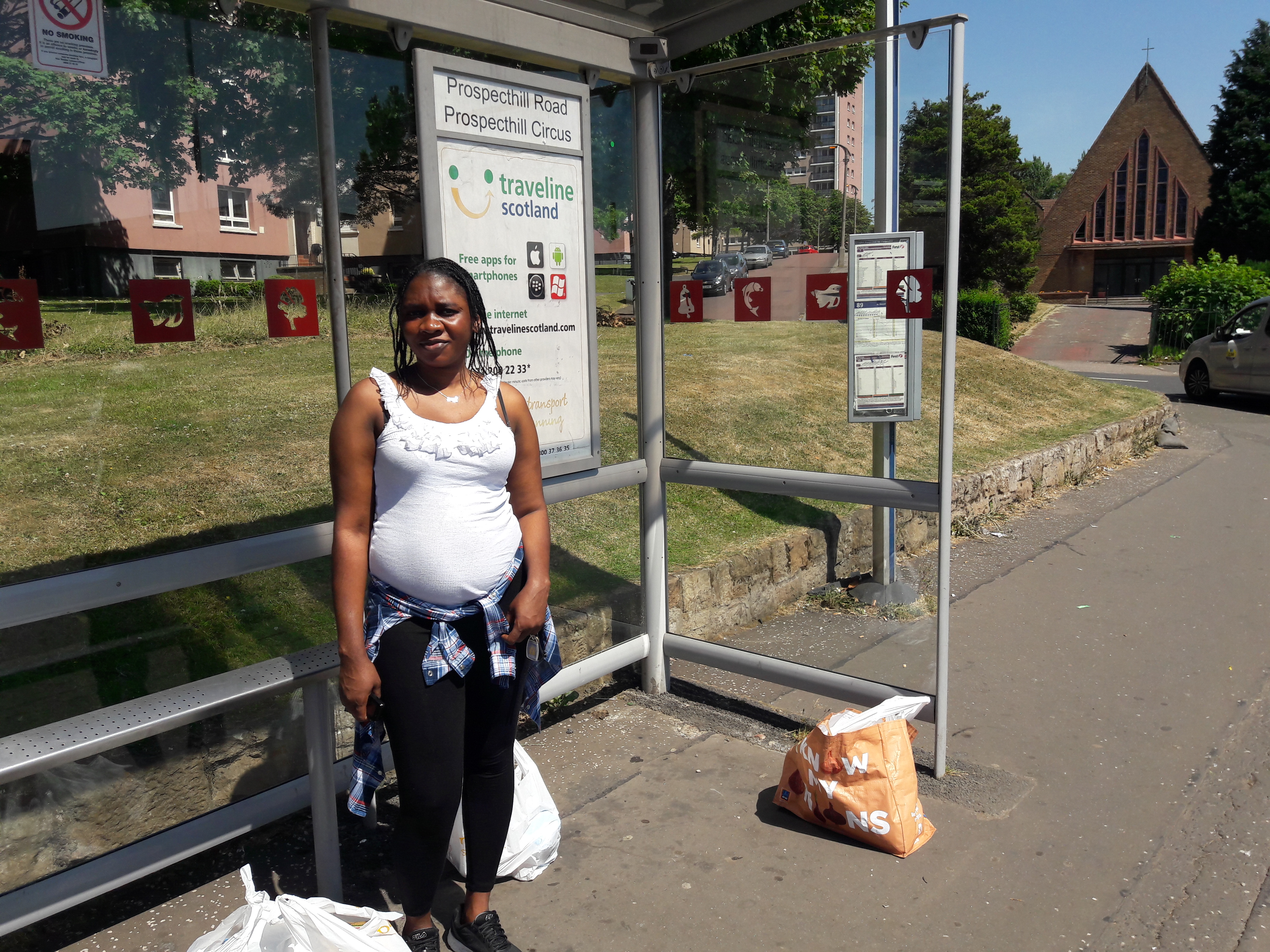 Bus passes for pregnant and new mother asylum seekers