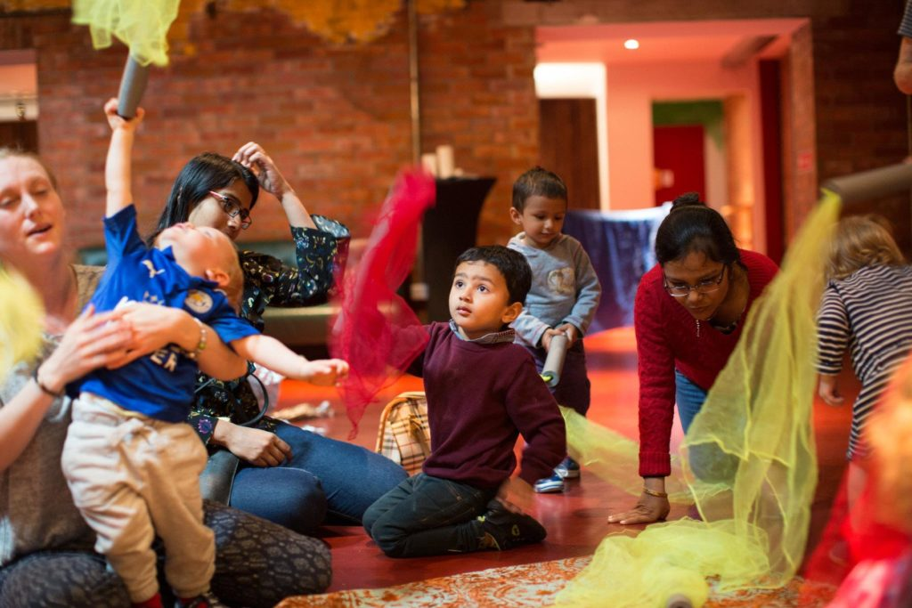 Refugee Parent and Toddler Group in Glasgow Wee Welcome