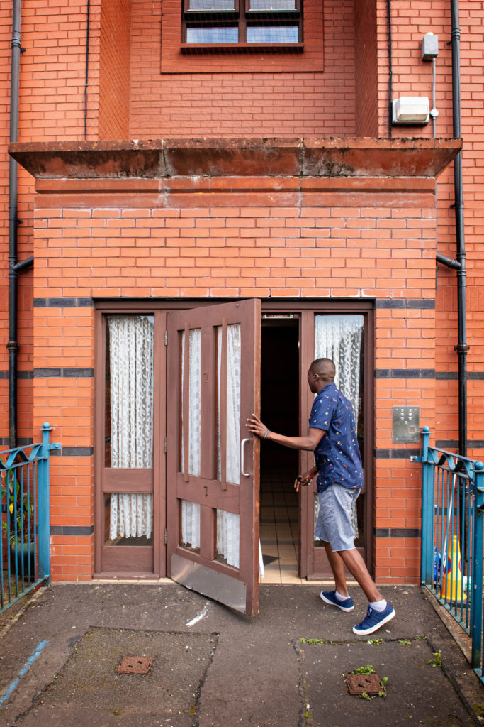 Asylum seeker at risk of homelessness now living in our accommodation